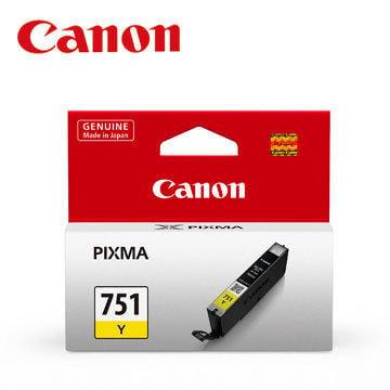 *耗材天堂*CANON CLI-751Y 原廠墨水匣(黃色)(促銷價,未稅)請先詢問再下標