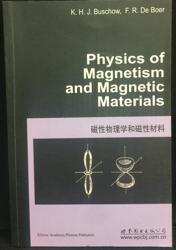 《physics of magnetism and magnetic materials》│9787510050459