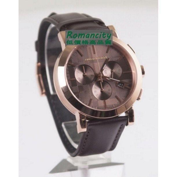 BURBERRY巴寶莉 burberry 三眼時尚流行手表時尚 玫瑰金 BU9355 BU1863 巴寶莉手錶 手錶 錶