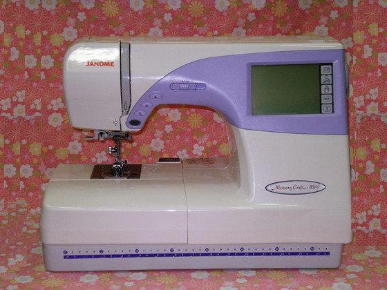 亞記縫紉機 JANOME車樂美電腦刺繡縫紉機 縫紉週邊 家電 維修 特價  JANOME MC-9500型