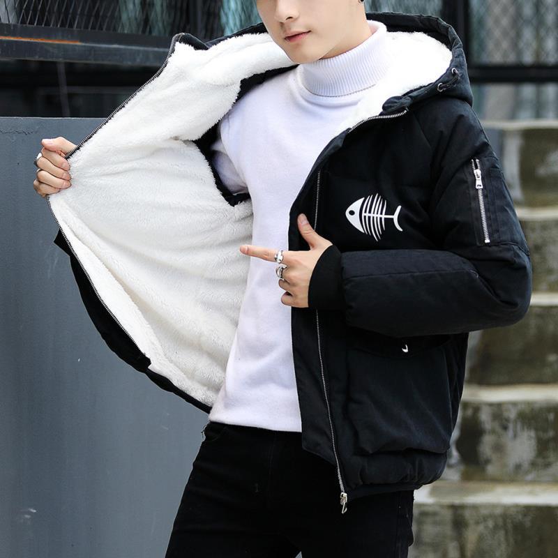 『年終免運』青少年初中學生大童胖12男孩冬裝外套13-14-15歲加絨加厚棉衣服襖
