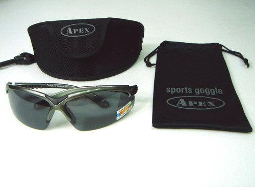 APEX 908 美國POLARIZED 偏光眼鏡 太陽眼鏡 運動眼鏡 防風眼鏡 (單支附贈拉鍊收納硬盒)鏡框多色可選