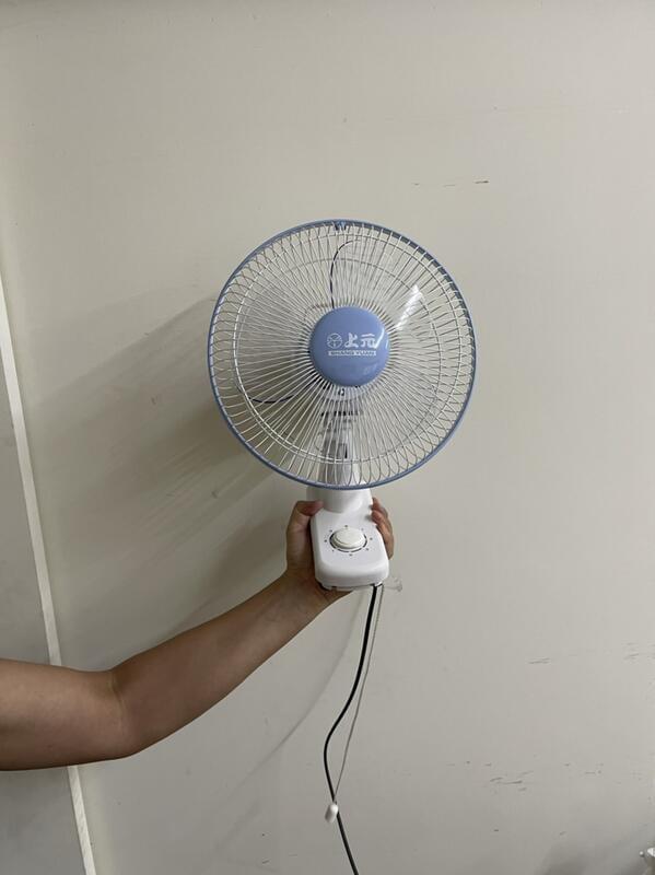 【上元】10吋單拉壁扇 SY-102電扇電風扇循環扇mit左右擺頭3速分明