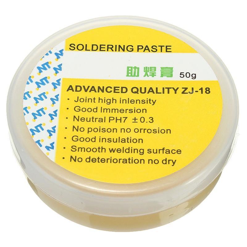 助焊膏免清洗耐高溫焊油焊劑50g 焊接環保錫膏