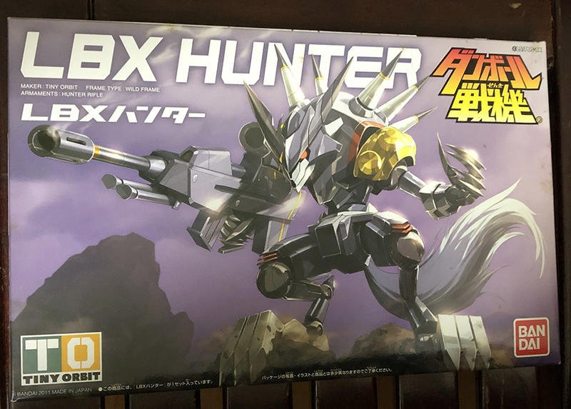 LBX 紙箱戰機 005 獵人 HUNTER (全新未拆)