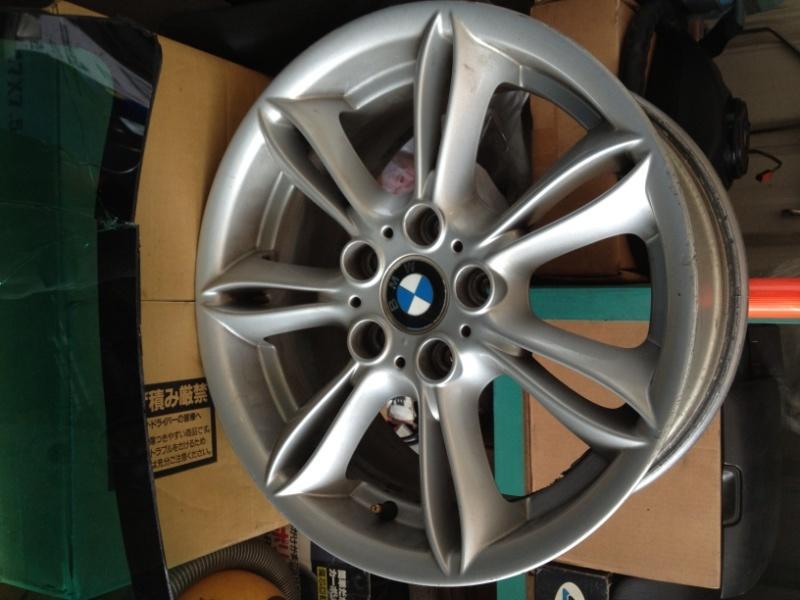 """降價了!!BMW 原廠Z4 17"""" 放射狀鋁圈一組 E87,E82可裝 , E46 E36可參考"""