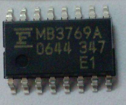 [二手拆機][含稅]原裝 MB3769A 貼片SOP-16【直拍】
