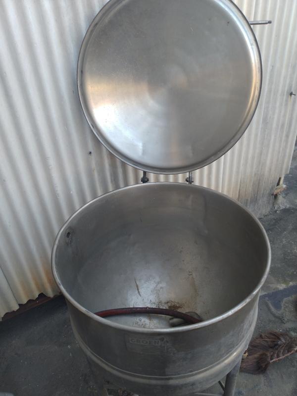美製不鏽鋼蒸氣煮鍋拆船貨