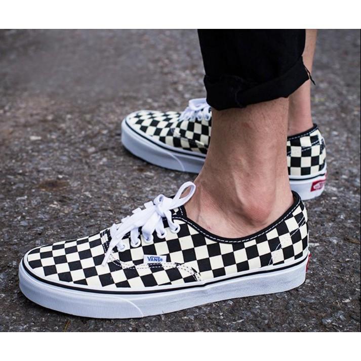 VANS CLASSIC SLIP-ON 男女鞋 棋盤格 黑米白 懶人鞋