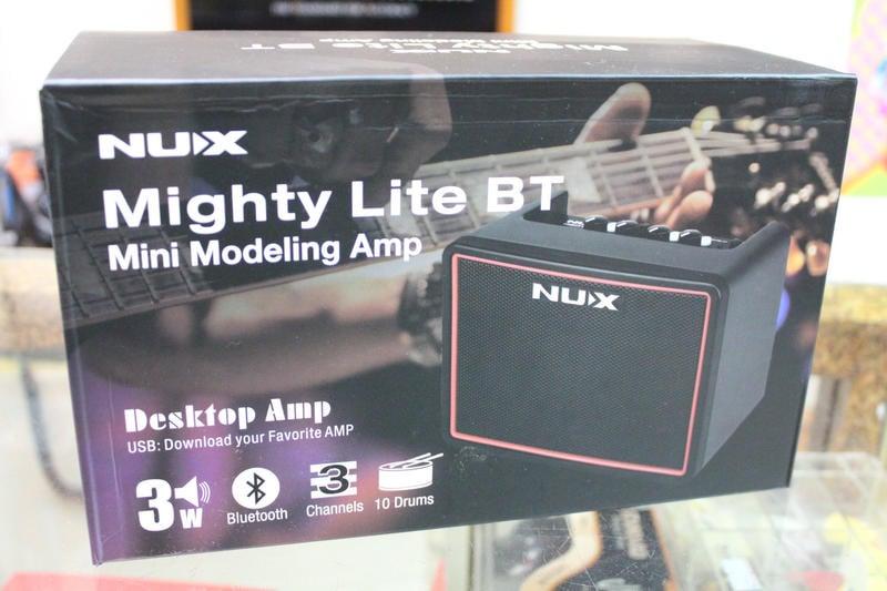 【名曲堂樂器】免運 NUX Mighty Lite BT 電吉他音箱 可電池供電 內建鼓機節奏機/藍芽 效果器 迷你音箱