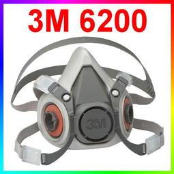 ◎智發◎3M 6200雙罐半罩式防毒面具(另 3M防毒面具 3M6502QL 7502 6800 3200)