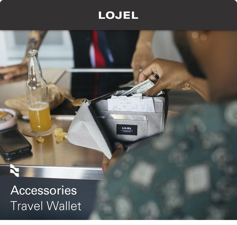LOJEL Travel Wallet 護照夾【Chu Mai】趣買購物 生日禮物 聖誕禮物 (二色)