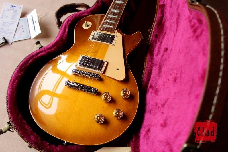 【Chad's Guitar】1998 Gibson Les Paul Standard Honey Burst