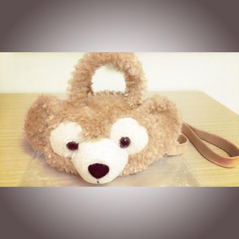 香港代購 達菲熊 手提、肩背包