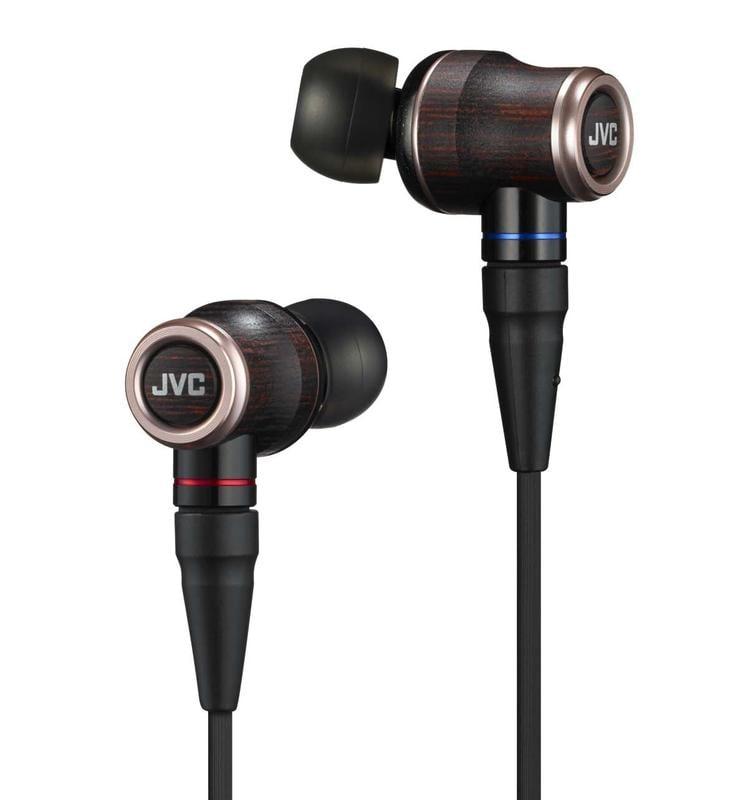 【犬爸美日精品】JVC WOOD系列 HA-FW02 入耳式耳塞式耳機 日本製 輕量化木質振膜 高解析 可換線