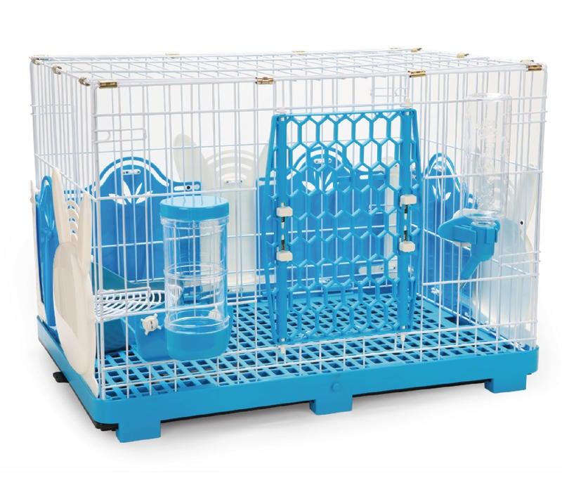 【阿肥寵物生活】Acepet 愛思沛 精緻兔兔套房-610MR全配 粉色 藍色 兔籠