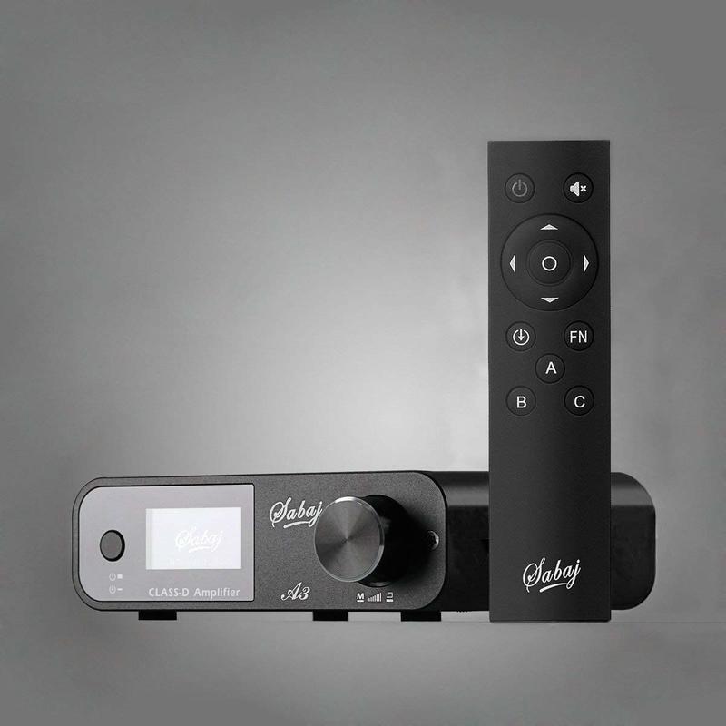 Sabaj A3大号科技 全数字HIFI功放大功率80W带遥控蓝牙4.2家用功放(限量三台售完為止)