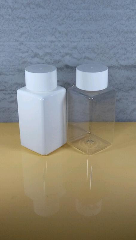 500ml大平蓋樂高瓶 (買10送1) PET瓶 方形瓶 塑膠瓶 飲料瓶 平蓋瓶 茶飲瓶 透明瓶 白色瓶 羅東肥皂