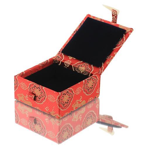 [歐克帕]宋錦緞小正方型*錦盒珠寶盒印章盒玉器盒收藏盒古玩盒古董盒首飾盒飾品盒戒指盒手鐲盒手環盒玉鐲盒手鍊盒項鍊盒玉石盒