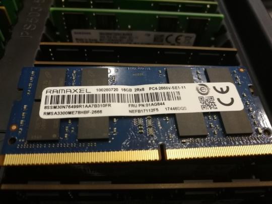 ㊣詢價?Ramaxel記憶科技 16G DDR4 2666 2667 16G 2666筆記型電腦記憶體條