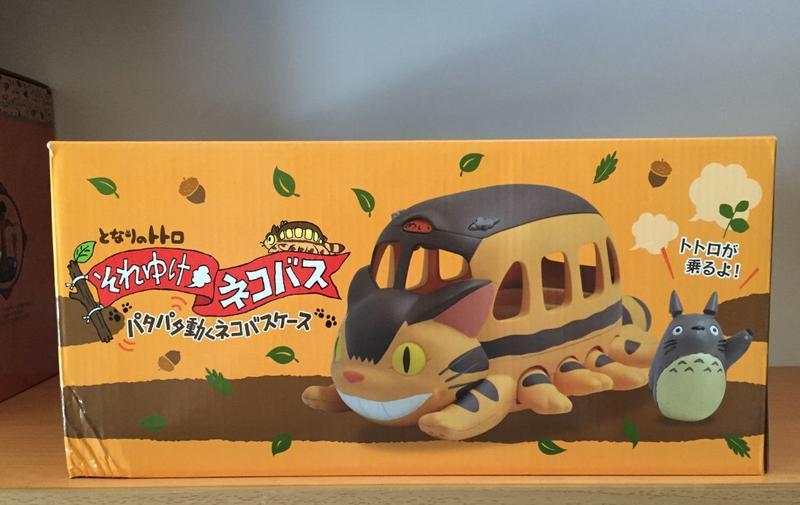 日本 龍貓公車 龍貓巴士  擺飾 收納 裝飾 宮崎駿 吉卜力 動漫