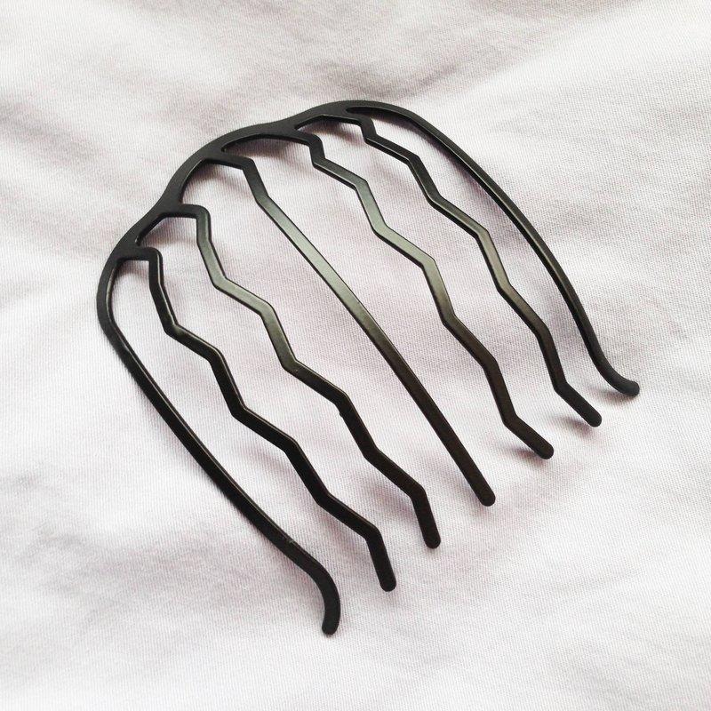 法式盤髮髮叉 全鋼材質 適合空服員 晚宴