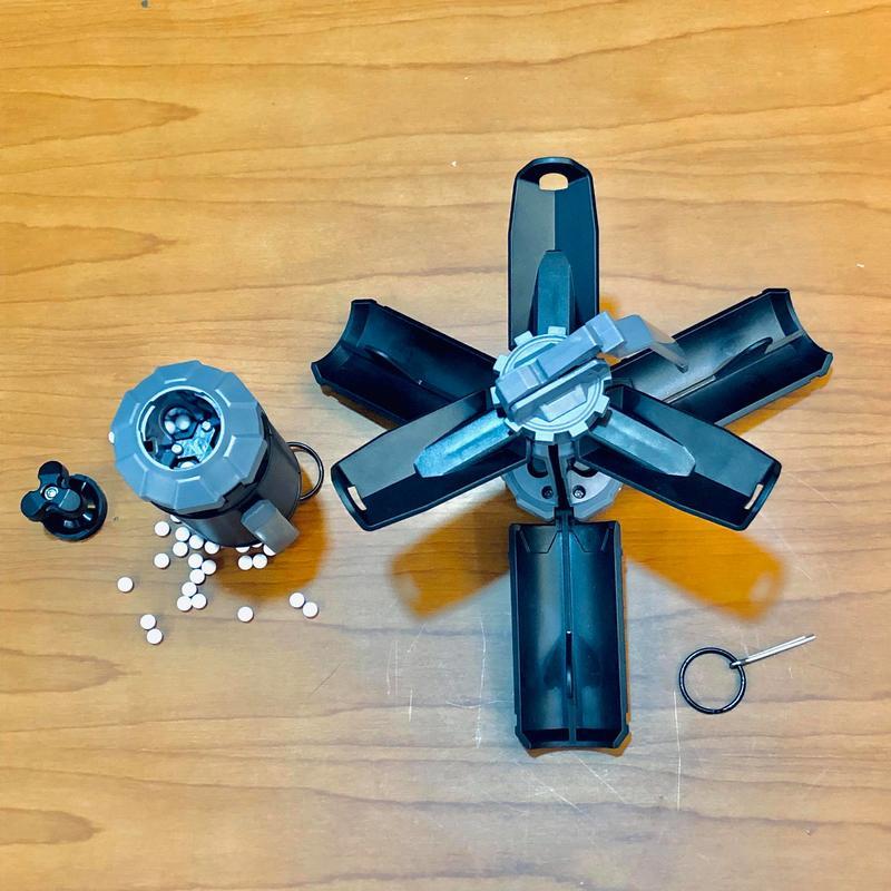 【TAF 現貨】香港原裝進口 GBR Airsoft Grenade 撞擊式玩具手榴彈