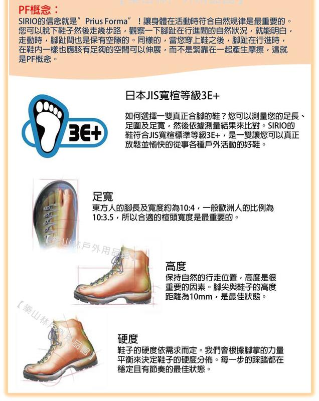 SIRIO-日本-Gore Tex男中筒登山健行鞋(PF156DE)丹寧藍【樂山林戶外用品館】