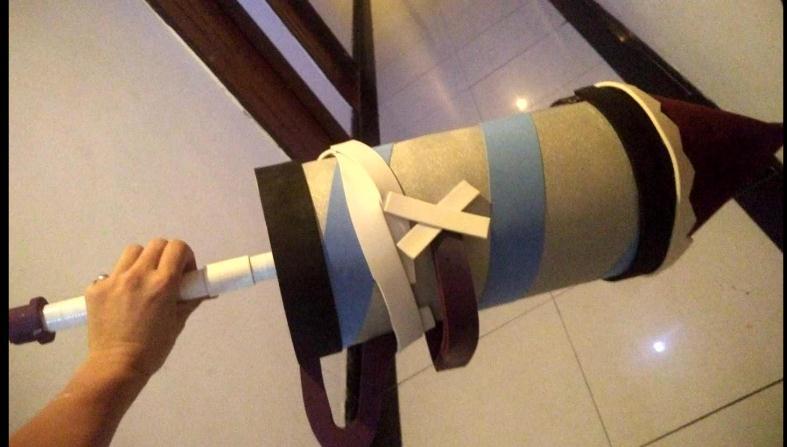 可來圖製做 小丑cos道具 火箭 錘子 武器 第五人格 第5人格 監管者 cos假肢 假腿道具