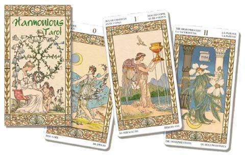 HOT★塔羅事典★孟小靖的塔羅博物館《和諧塔羅牌 Harmonious Tarot》