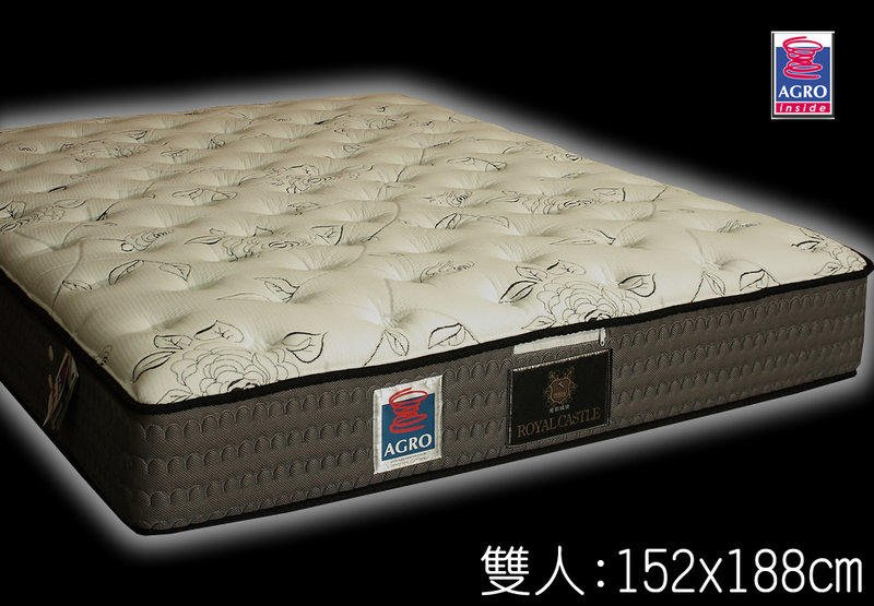 【偉儷床墊工廠】【AGRO~比利時乳膠型】德國原裝AGRO獨立筒彈簧+天絲棉+比利時乳膠~雙人