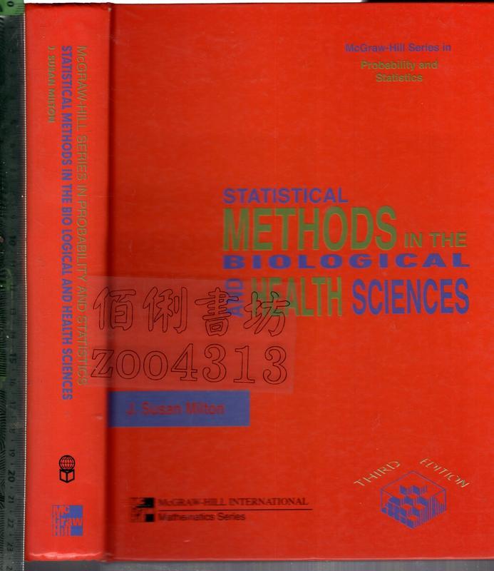 佰俐O《STATISTICAL METHODS IN THE BIOLOGICAL AND HEALTH~》