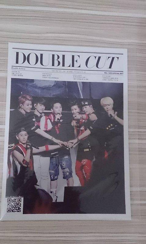 GOT7 Mark Jackson Double Action 桌曆 2015 PB 特典 韓站