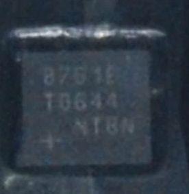[二手拆機][含稅]拆機二手原裝 8761E MAX8761E MAX8761ETG 液晶IC