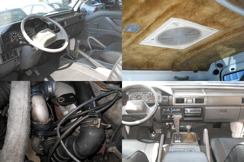 正98年 得利卡 4WD 柴油 自排 加大渦輪 底盤加高 呼吸管 全車精品 ..VITARA TJ YJ XJ 吉星 藍哥 PAJERO JK FJ 露營車