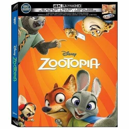 迷俱樂部 現貨!動物方城市 [藍光BD] 4K UHD+BD 雙碟鐵盒版 美版 Zootopia 迪士尼 奧斯卡最佳動畫