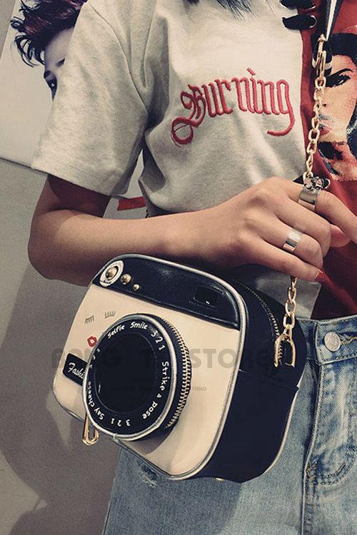 BANG◎復古相機側背包 軟殼側背包 造型包 斜背包 包包 女包 零錢包 側背包 創意包【BG37】