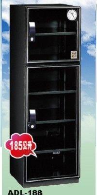 收藏家防潮箱185公升上下五層式電子防潮箱(ADL-188) *4大金剛加值加量不加價