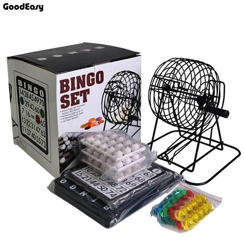 「芃芃玩具」美式賓果BINGO遊戲機 彩球喝酒遊戲機 大樂透搖獎機 聚會娛樂玩具貨號65471