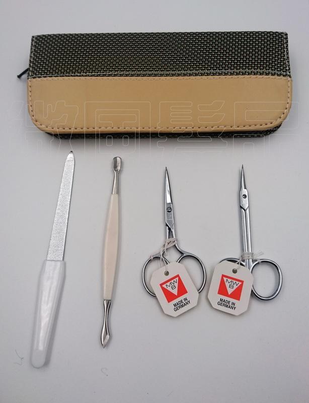 【微風髮品】美甲師指定款 - 西德三角牌指甲刀/ 指甲剪,直剪.彎剪四件修容組《公司貨》 0 直購