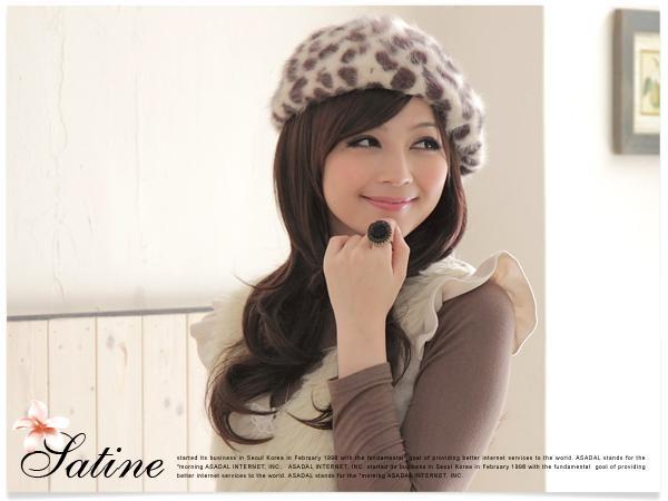 【限時促銷】紗婷‧Satine【Fiona款】甜美層次中長捲髮款‧優雅俏麗風全頂式假髮