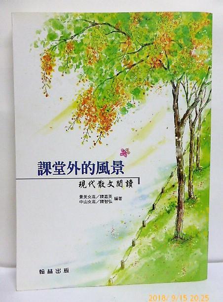 課堂外的風景 現代散文閱讀 陳嘉英 陳智弘 翰林出版  E2