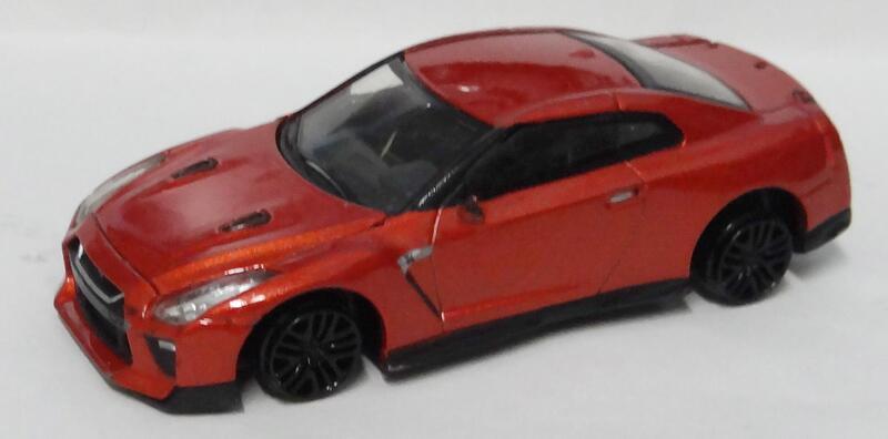 7-11 模型車  NISSAN GT-R (R35) 2017 瑕疵車 1/60 1:60