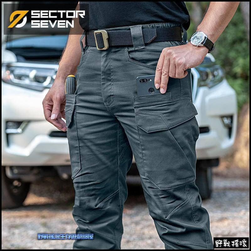 【野戰搖滾】 SECTOR SEVEN IX11 戈凌特勤戰術長褲、作戰褲【碳灰色、灰綠色】戰術褲工作褲迷彩褲