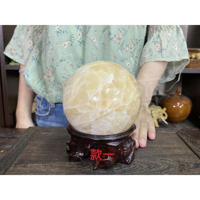 【御古齋】精選木質 小球座 圓形原木 水晶球座 紅絨布 旋轉球座 木雕展示座 共四款 1101 水晶 琉璃 寶石