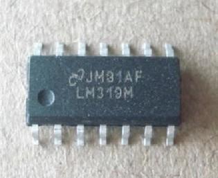 [二手拆機][含稅]原裝 LM319N LM319DT LM319 雙電壓比較器 SOP14