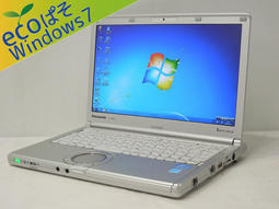 Let's note 日本原裝松下CF-SX2(I5 3320M /4G/12.1螢幕/250G HDD