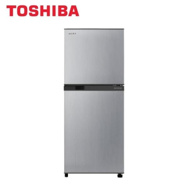 TOSHIBA東芝192公升一級變頻雙門電冰箱GR-A25TS(S) 冷藏室強化玻璃透明盤架