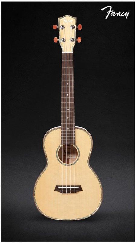 《小山烏克麗麗》Fancy 優質烏克麗麗 TW-200  26吋 全單雲杉、楓木 附硬盒