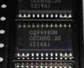 [二手拆機][含稅]OZ9998GN=OZ9998AGN 液晶高壓板貼片